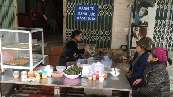 Thưởng thức hương vị bánh tẻ Cao Bằng quen thuộc, dân dã