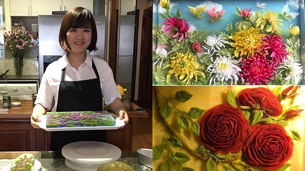 """Mẹ 8X Cao Bằng được phong """"thánh tỉa thạch 3D"""", chỉ với cây kim tạo nên loạt tác phẩm tuyệt đỉnh"""