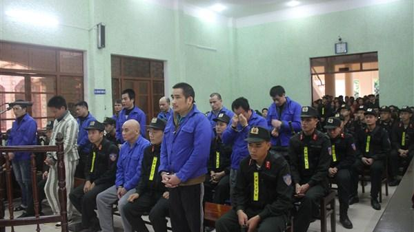 Cao Bằng: Tuyên án tử hình cho 5 bị cáo phạm trọng tội