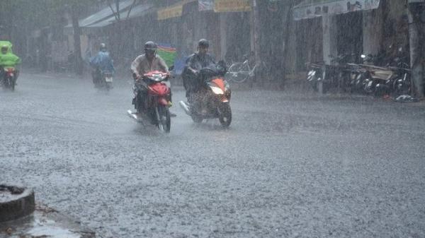 Do ảnh hưởng của bão số 7, miền Bắc có thể có mưa lớn 3 ngày liên tiếp