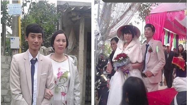 Đám cưới hạnh phúc của cặp đôi chồng kém vợ 23 tuổi gây xôn xao