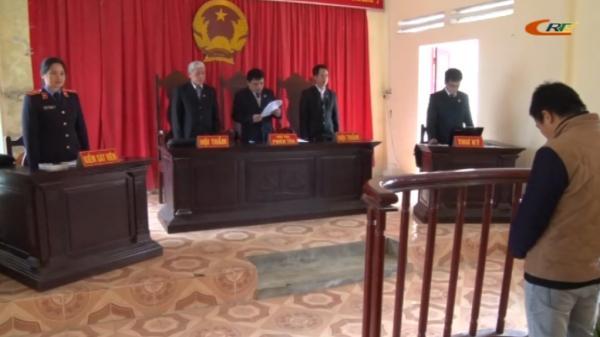 Cao Bằng: Xét xử hàng loạt vụ án hình sự nghiêm trọng
