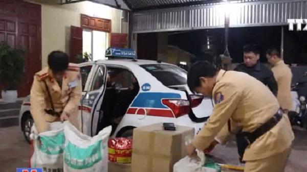 Cao Bằng liên tiếp bắt giữ hàng loạt vụ vận chuyển hàng lậu qua biên giới