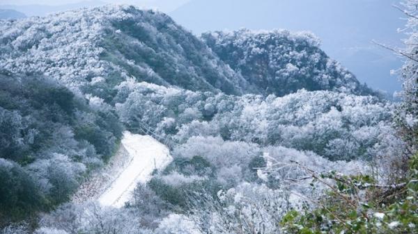 Cao Bằng có khả năng lại xuất hiện băng giá phủ trắng xóa