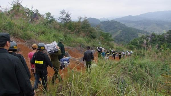 Cao Bằng: Đồn Biên phòng Trà Lĩnh phát hiện và xử lí hành chính 20 vụ, thu hàng trăm kg hàng lậu