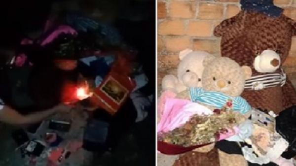 Clip: Cô gái đốt sạch quà tặng của người yêu sau khi chia tay mối tình 3 năm có lẻ