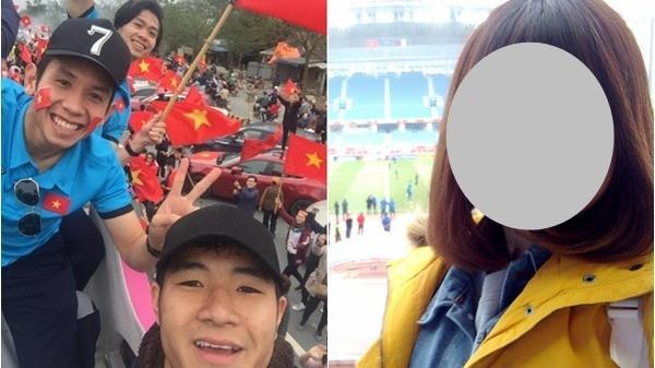 """Tìm ra Facebook nữ CĐV gào tên Hồng Duy Pinky: """"Em ơi, bán son cho chị!"""""""