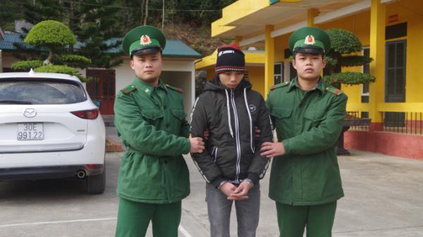 Cao Bằng: Đồn Biên phòng Cửa khẩu Trà Lĩnh truy bắt bắt 2 đối tượng buôn ma túy