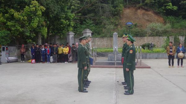 Đồn BPCK Trà Lĩnh (Cao Bằng): Tiếp nhận 44 công dân nhập cảnh trái phép