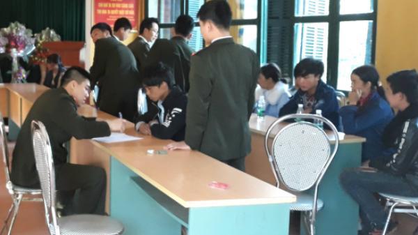 Cao Bằng: 14 công dân xuất cảnh trái phép sang Trung Quốc được trao trả qua cửa khẩu Trà Lĩnh