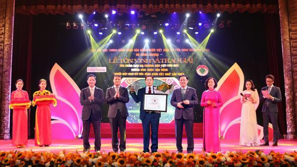 Cao Bằng: 2 doanh nghiệp đoạt Giải thưởng sản phẩm, dịch vụ thương hiệu Việt tiêu biểu