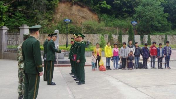 Cao Bằng: Tiếp nhận 12 công dân nhập cảnh trái phép qua biên giới