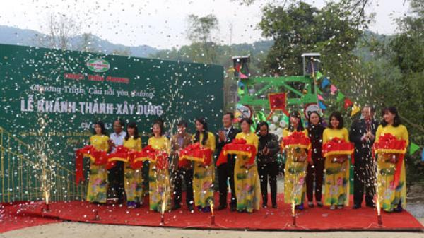 Khánh thành cầu dân sinh tại Cao Bằng