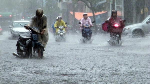 Ngày 4/7: Bắc Bộ mưa to đến rất to, nguy cơ lũ quét và sạt lở đất