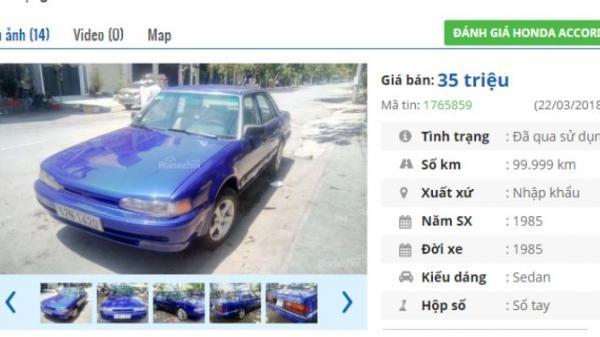 Ngỡ ngàng với top ô tô cũ đang rao bán với giá chỉ dưới 45 triệu đồng