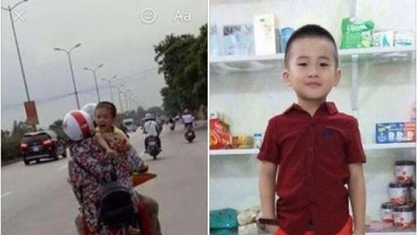 Dân mạng sôi sục với hình ảnh em bé khóc trên đường nghi là bé trai mất tích cách đây 2 ngày