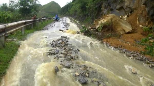 Hà Quảng: Khẩn trương khắc phục hậu quả mưa lũ