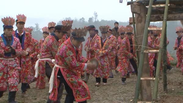 Nét đẹp văn hóa Cao Bằng, về Nguyên Bình dự lễ sắc phong Tẩu Sai