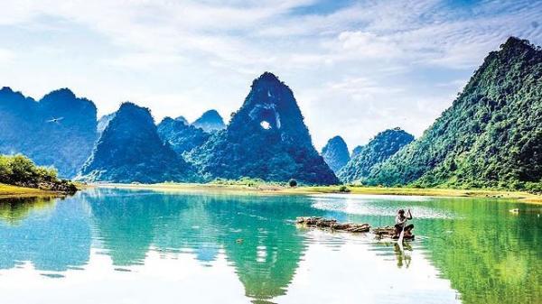 Vẻ đẹp hoang sơ Công viên địa chất Non nước Cao Bằng