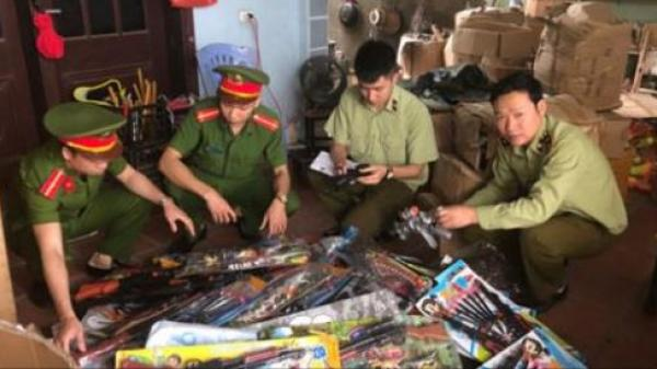 Thanh Hóa: Xử phạt 30 triệu đồng cơ sở kinh doanh đồ chơi trẻ em nguy hiểm