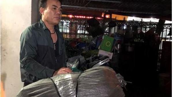 Bắt giữ đối tượng vận chuyển 8 cá thể tê tê đông lạnh về Cao Bằng