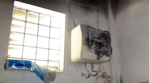 Thái Nguyên: Kịp thời ngăn chặn một vụ c.háy do do chập điện bình nóng lạnh