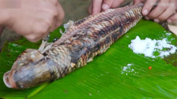 Lên Cao Bằng thưởng thức cá trầm hương nướng nổi tiếng ở thác Bản Giốc