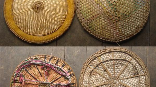 Đặc sắc nón lá của dân tộc Lô Lô đen ở Bảo Lạc
