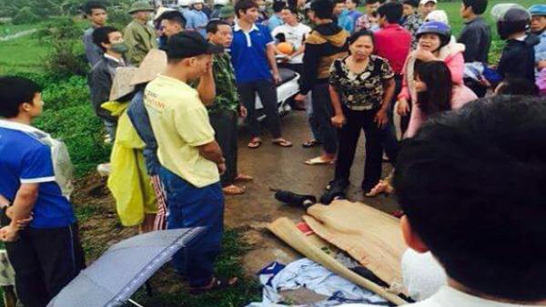 Nóng: Bị sét đánh, thanh niên ngã xuống sông mất tích