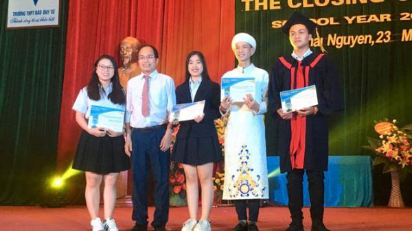 Thái Nguyên: Học sinh Trường THPT Đào Duy Từ xuất sắc giành nhiều học bổng du học