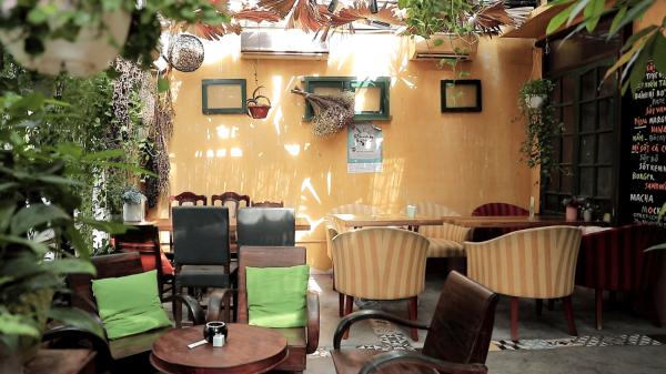 Lạc vào quán café đẹp như vườn cổ tích ở Hà Nội