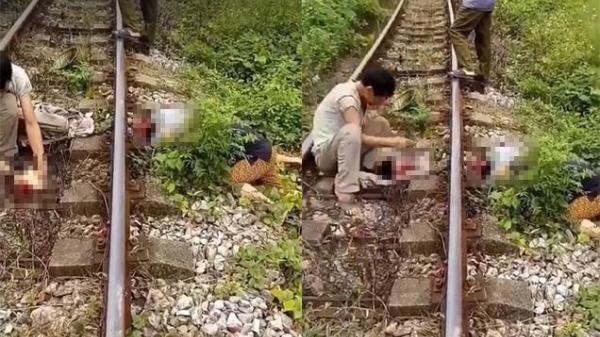KINH HOÀNG: Người đàn ông bị tàu hỏa cán lìa đầu khi đi qua đường sắt