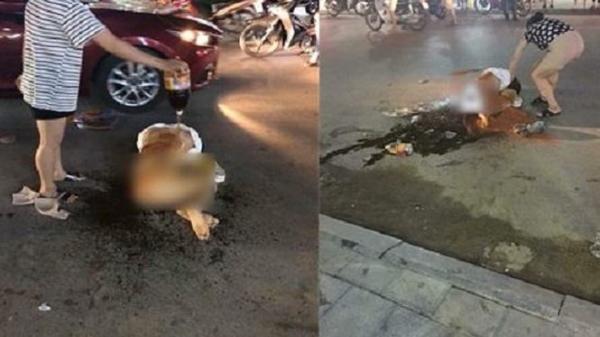 Cô gái bị lột đồ, đổ nước mắm lên người giữa phố tiết lộ danh tính kẻ hành hung