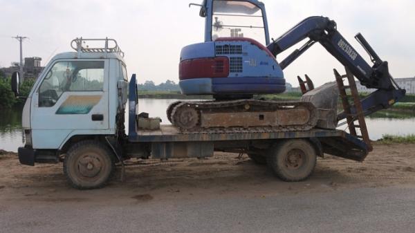 Mở rộng điều tra, công an tóm gọn đối tượng quê Thái Nguyên cùng đồng bọn trộm cắp xe tải, máy xúc