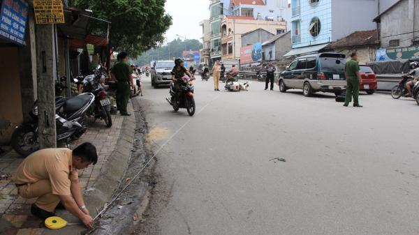 Cao Bằng: Ô tô va chạm xe máy, 1 người bị thương