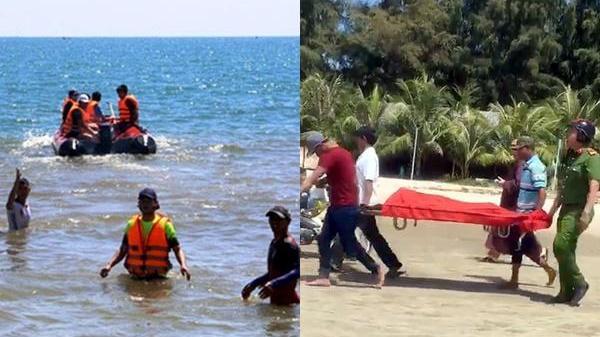 Xót xa 2 người bạn cùng tên đi tắm biển bị sóng nhấn chìm tử vong thương tâm