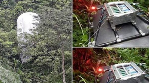 Sự thật về 'vật thể lạ' phát sáng rơi xuống rừng ở Hà Giang