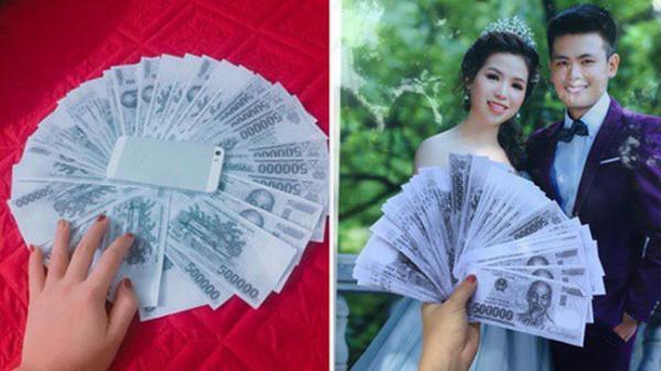 """Hội bạn thân """"lầy lội"""" tặng hẳn 50 triệu tiền mừng cho cô dâu chú rể, thế nhưng nhìn kỹ mới tá hỏa phát hiện sự thật"""