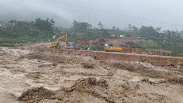 Thông tin mới nhất về tình hình mưa lũ ở Hà Giang