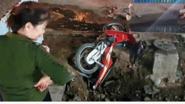 """Quảng Ninh: Nhà thầu thi công """"ẩu"""", người dân đối mặt nguy cơ tai nạn giao thông tiềm ẩn"""