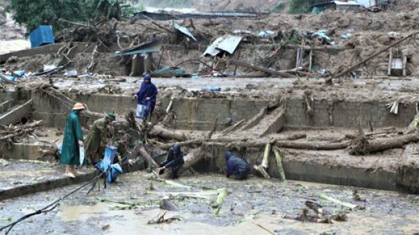 25 người chết và mất tích do mưa lũ: Cảnh báo một số huyện tại Cao Bằng có nguy cơ sạt lở đất, lũ quét