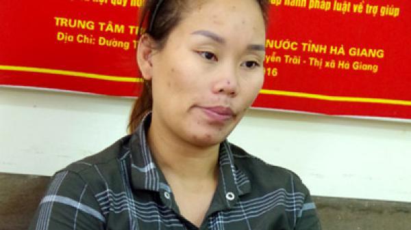 """Hà Giang: Bắt quả tang """"nữ quái"""" đang bán ma túy cho con nghiện"""
