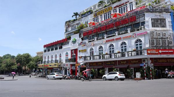 Nắng hơn 40 độ C, phố Hà Nội giữa ban ngày vắng như Tết
