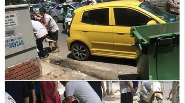 Hà Nội: Thực hư vụ thanh niên ngủ dưới gầm ô tô để tránh nắng, tài xế không biết kéo lê 1 đoạn trên đường