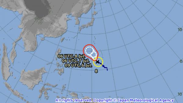 HOT: Xuất hiện bão Maria, miền Bắc sắp có mưa lớn
