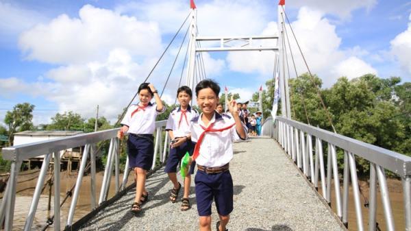 Hồng Dân (Bạc Liêu): Khởi công xây dựng hai cầu treo trị giá hơn 1,5 tỷ đồng