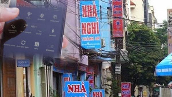 Vợ Hà Nội bị chồng phát hiện ngoại tình vì ĐTDĐ kết nối Wi-Fi nhà nghỉ