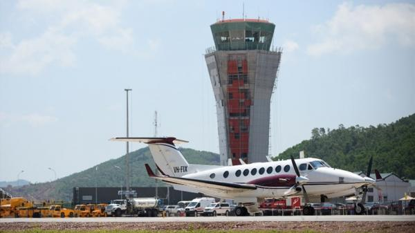 Quảng Ninh: Cảng hàng không quốc tế Vân Đồn đón chuyến bay đầu tiên