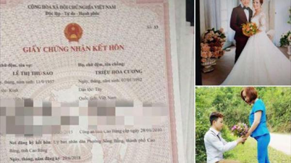 9x lấy vợ 62 tuổi ở Cao Bằng:  Xử lý cán bộ phường tung tin thế nào?