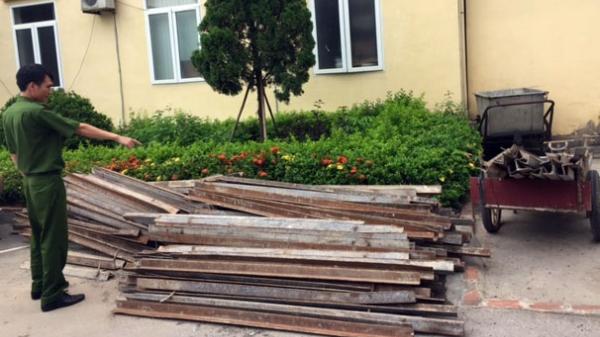 Quảng Ninh: Bắt nhóm trộm cắp 255kg sắt thi công đường cao tốc Hạ Long-Vân Đồn